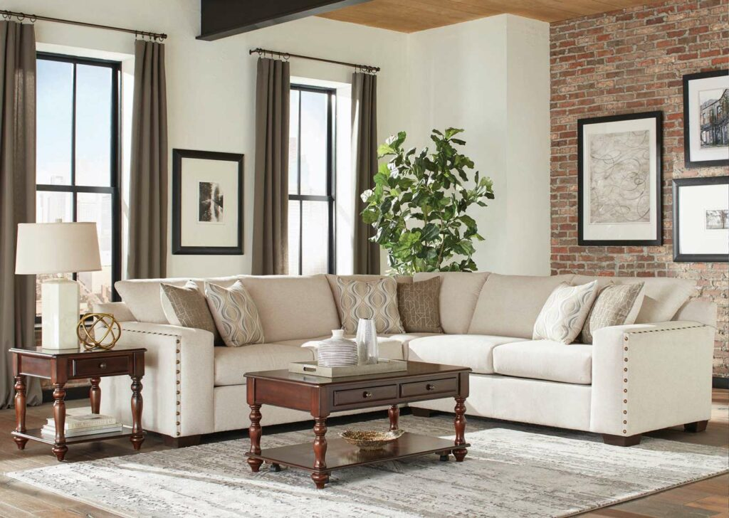 Aria Sectional by Coaster