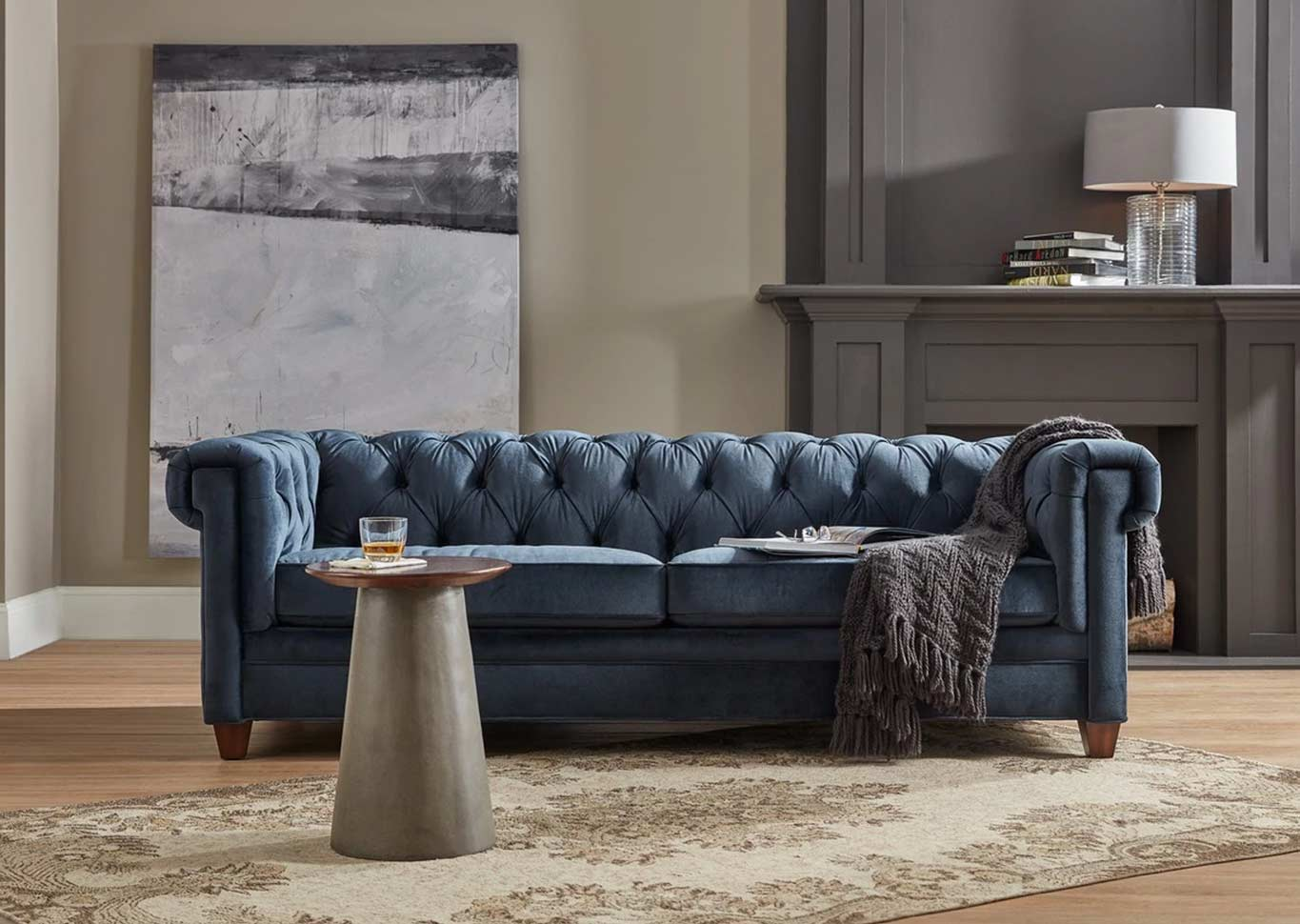 chesterfield sofa by Hooker