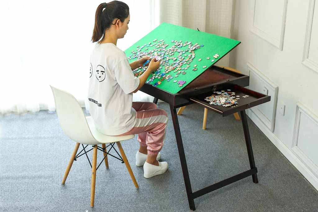 best jigsaw puzzle tables 5