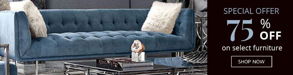 Modern Crushed Velvet Sofa with Accent Pillow