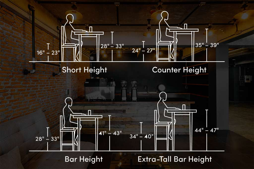 barstool height and width measuring guide 1