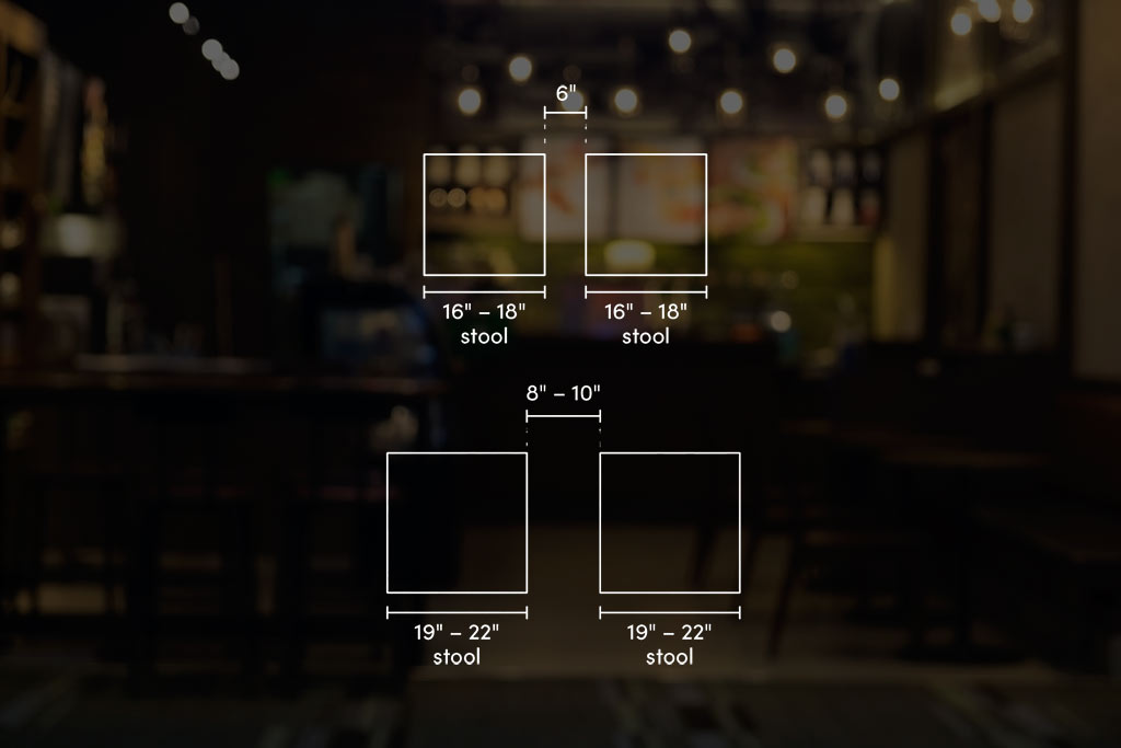 barstool height and width measuring guide 2